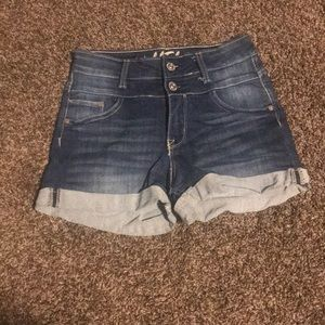 Wallflower Stretchy Denim Shorts